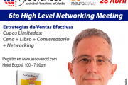"ASOCVENCOL invita al ""6to. High Level Networking Meeting"" con Carlos Rosales y su libro Personas compran personas"